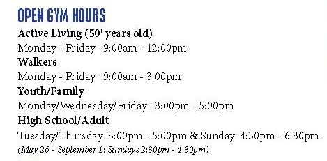 Open Gym Hours image