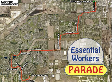 Essential Workers Parade