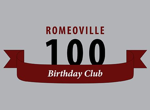 Romeoville 100 Birthday Club
