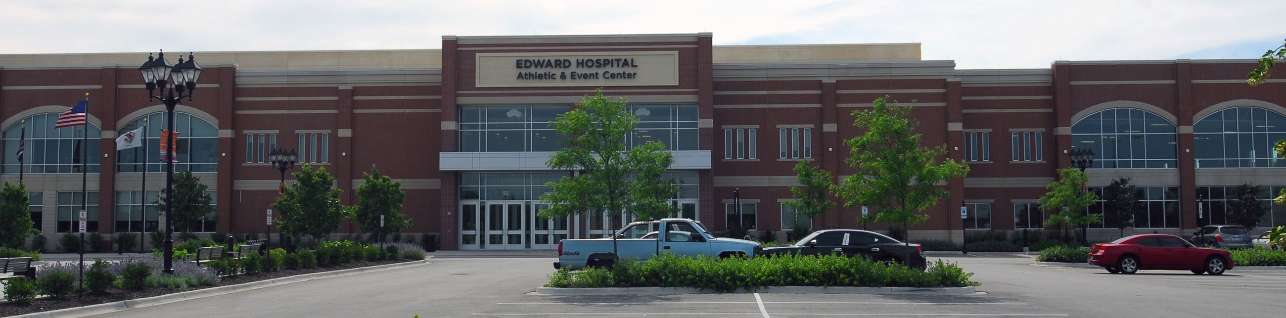 Edward Hospital Athletic and Event Center Panoramic View